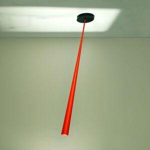 Designové závěsné světlo Drink Color oranž 127 cm