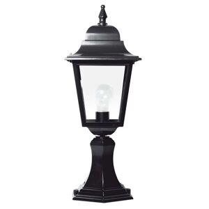 Dekorativní sloupkové svítidlo Sorrento černé