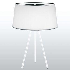 Kundalini Tripod stolní lampa bílá/základna bílá
