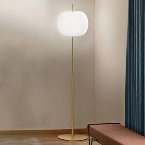 Kundalini Kushi XL stojací lampa, mosaz