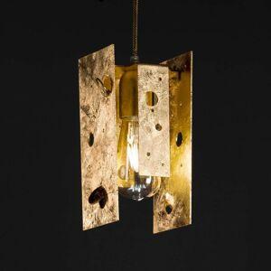 Knikerboker Buchi závěsné světlo 11x11x23cm zlato