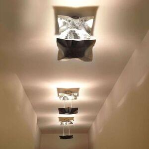 Knikerboker Piccola Crash stropní světlo stříbro