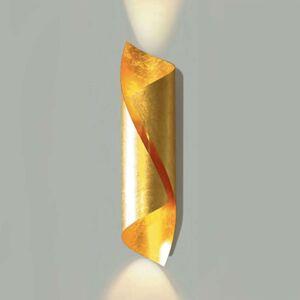 Knikerboker Hué LED nástěnné světlo V 54cm zlacené