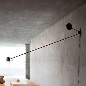 Luceplan Counterbalance LED nástěnné světlo černé