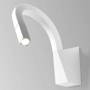 Ohebné LED nástěnné světlo Snake v bílé