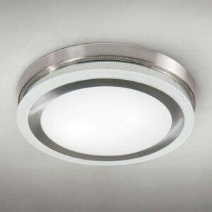 Kulaté stropní světlo RING 9115 51 cm chrom