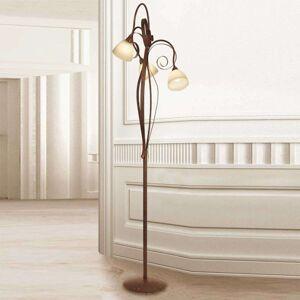 Třízdrojová stojací lampa Francesco
