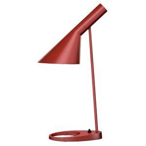 Louis Poulsen AJ - stolní lampa, rezavá červená