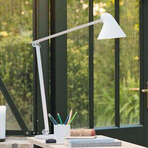 Louis Poulsen NJP LED stolní lampa, s nohou, bílá