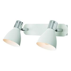 Markslöjd Nástěnné světlo Huseby, 2 zdroje, bílá