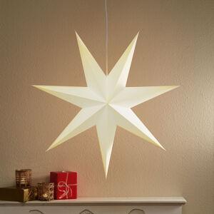 Markslöjd Papírová hvězda Duva k zavěšení, 75 cm