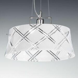 Závěsné světlo Corallo 40 1zdrojové bílé