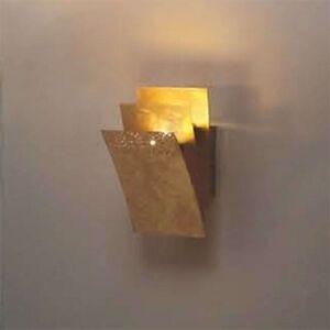 LED nástěnné světlo Virgola, 16 cm vysoké