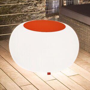 Bubble Outdoor stůl E27 svítidlo, plsť oranžová