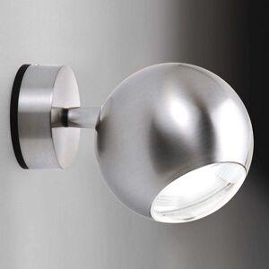 Milan Bo-La - kulové nástěnné světlo, nikl
