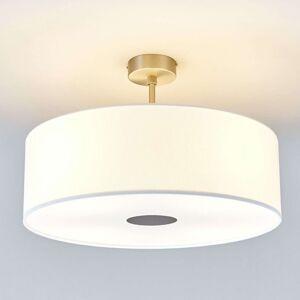 Lucande Stropní světlo Gala, 50 cm, chintz bílý
