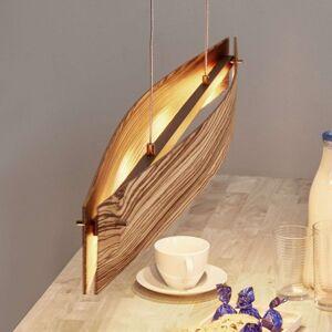 Zebrano – LED závěsné světlo Malu, stmívatelné