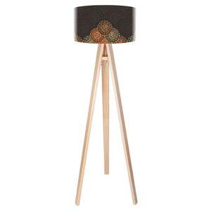 Stojací lampa Jamila v designu Etno, třínohá