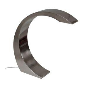 Stolní lampa LED Nami, výška 19,5 cm, šedá
