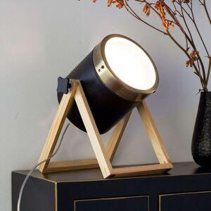 Stolní lampa Tim černo-zlatá