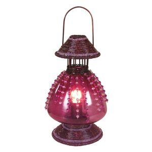 Stolní lampa Perla jako petrolejová lampa
