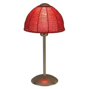 Stolní lampa Pearl s kulatým stínidlem