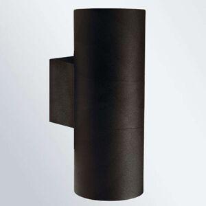 Venkovní nástěnné svítidlo Tin Maxi Double černé