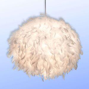 Flaušové závěsné světlo Ducky 30 cm