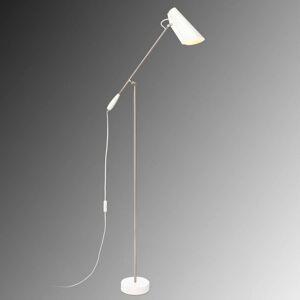 Northern Birdy - bílá Retro stojací lampa