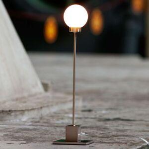 Northern Snowball - stolní lampa, metalická