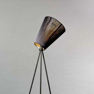 Northern Oslo Wood stojací lampa černá/černá