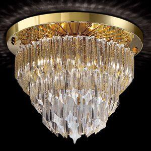 Kulaté stropní světlo Archimede pozlacené