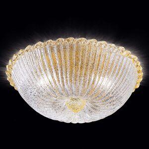 Stropní světlo Budino zlaté čiré 40 cm