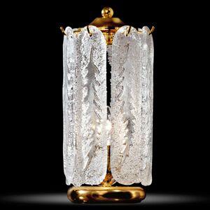 Stolní lampa Pini s pozlacením