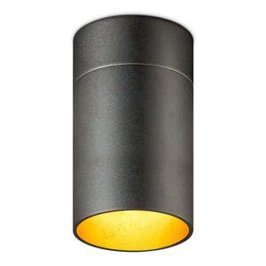 OLIGO Tudor M LED stropní svítidlo 18,5cm černozl