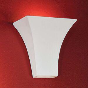 Nástěnné svítidlo Antonie hranaté bílé