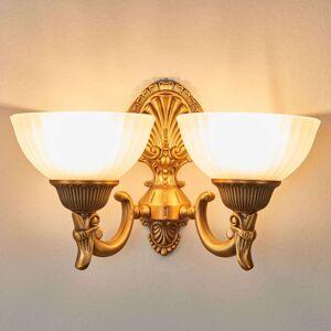 Nástěnné světlo Noam v bronzu, 2 žárovky