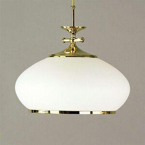 Závěsné světlo Empira, zlaté, 32 cm