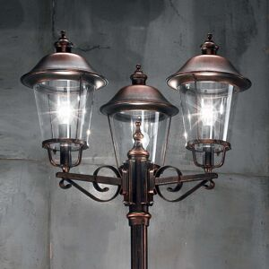 Stožárové svítidlo Mariella, se třemi žárovkami