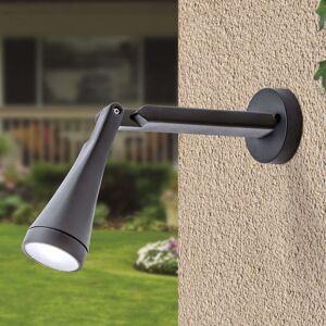 Vyložené LED venkovní nástěnné světlo Davin