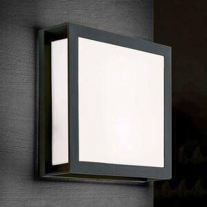 Venkovní nástěnné světlo Henry, antracit IP44