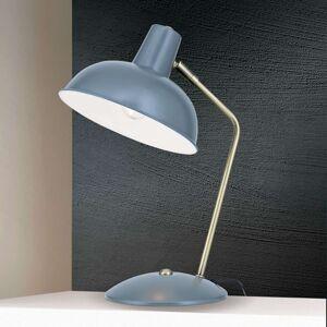 Ve vzhledu vintage - stolní lampa Fedra šedá