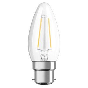 B22 2,5W 827 Filament LED svíčková žárovka