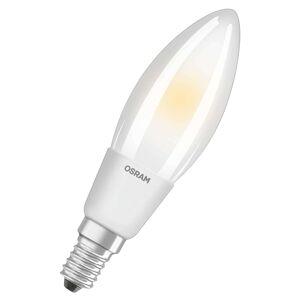 LED svíčková žárovka E14 5W, teplá bílá stmívat