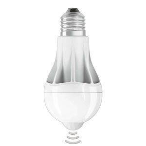 LED žárovka E27 11,5W, teplá bílá detektor pohybu
