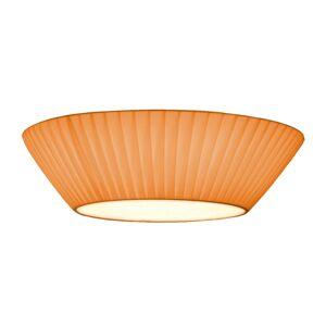 Prosté stropní světlo Emma 50 cm oranžové