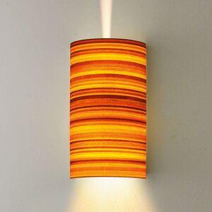 Nástěnné světlo Bongo ve vzhledu dřeva