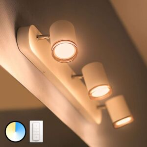 Philips Hue White Ambiance Adore, LED Spot 3-žár.