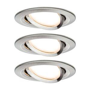 Paulmann 3 svítidlo Nova Coin kulaté otočné železo