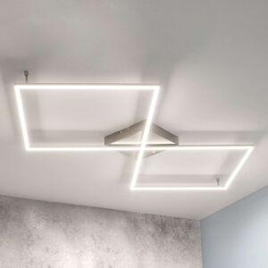 Stropní LED svítidlo LED Romee sovladačem